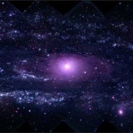 "NASA | Take a ""Swift"" Tour of the Andromeda Galaxy"